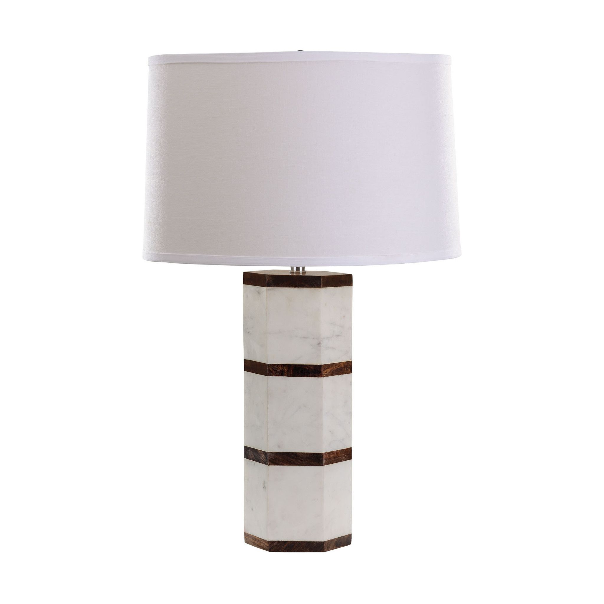 Black and white marble lamp tables white marble and home black and white marble lamp geotapseo Gallery