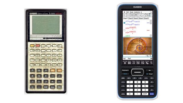 You Won T Believe How Much Graphing Calculators Have Changed Graphing Calculators Graphing Calculator Technology