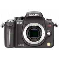 Panasonic Dmc Gh1 Lumix 12 Megapixel Digital Slr Camera Body Only Black System Camera Camera Camera Deals