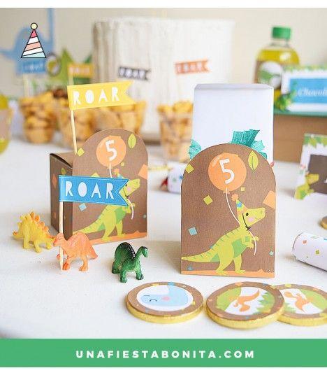 Kit Imprimible Para Fiestas Dinosaurios - #ideasfiesta #etsy #fiesta ...
