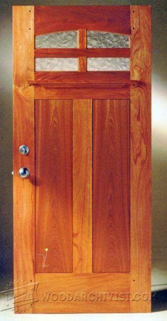 Easy Entry Door Plans Door Construction And Techniques