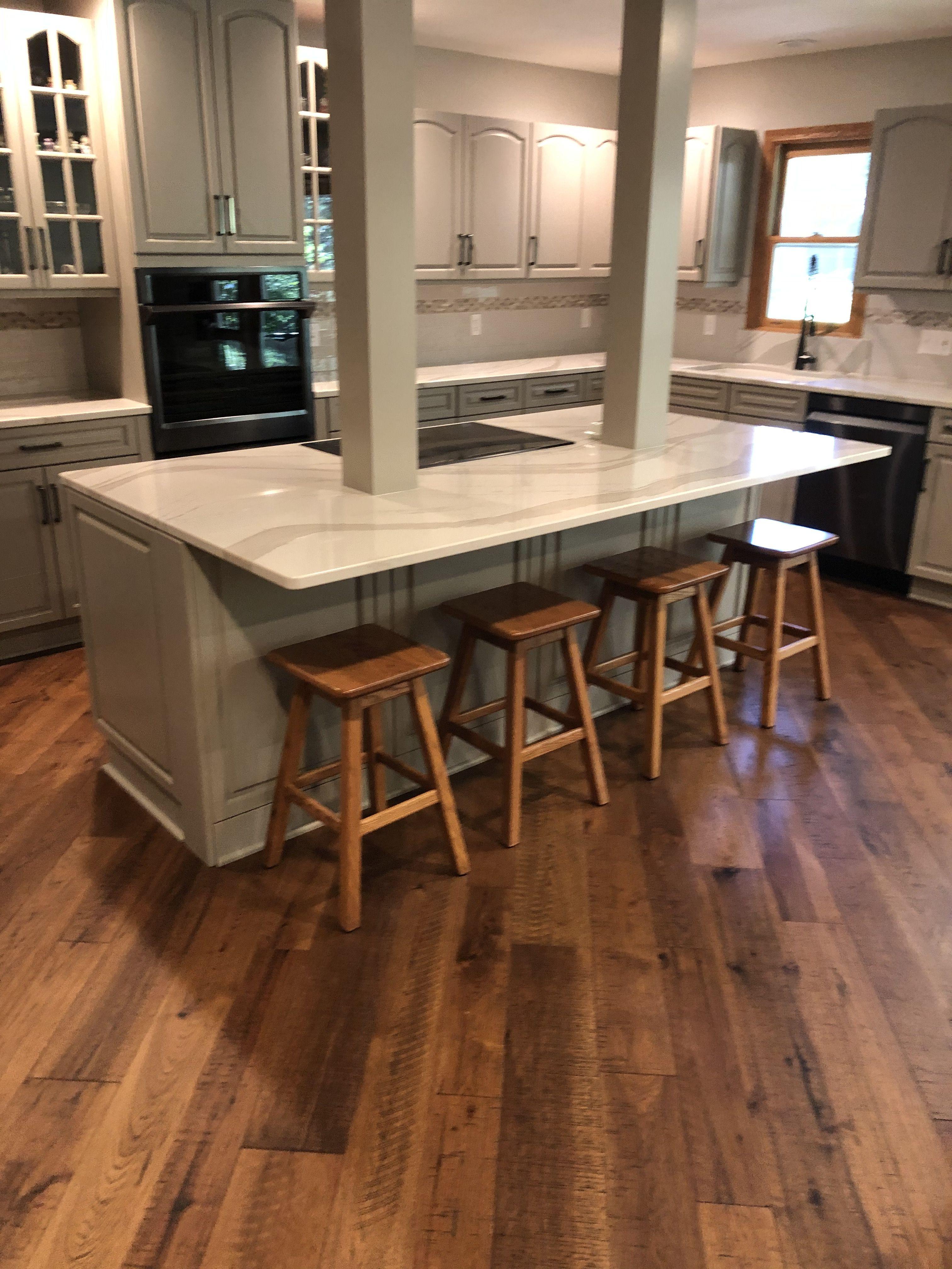 Chamomile Hickory Hallmark Floors In 2020 Hallmark Floors Contemporary Living Hardwood