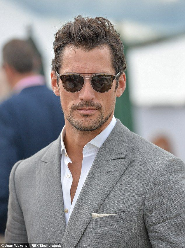 Heartthrob David Gandy Continues His Romance With A Mystery Brunette