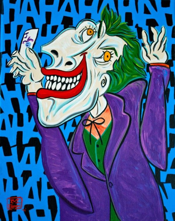 The Joker Picasso Style | Funny Superheroes | Pinterest | Style ...