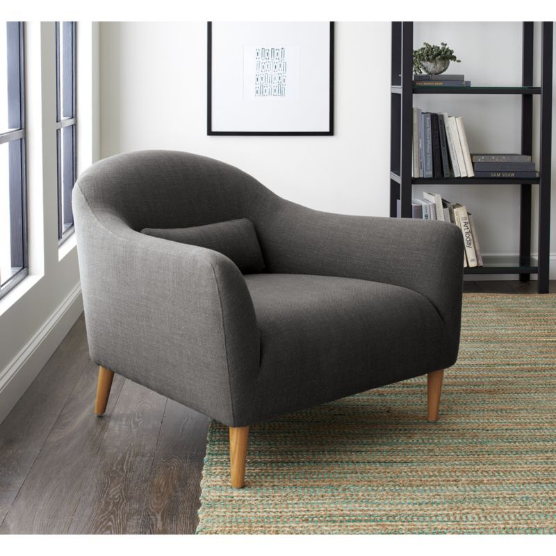 Pennie Chair Crate And Barrel Use In Hallway Alcove Furniture