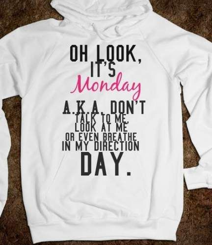 New quotes funny monday shirts 62+ Ideas
