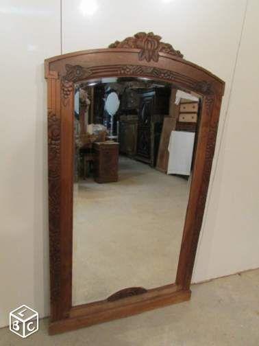 Grand miroir art déco décoration paris leboncoin fr