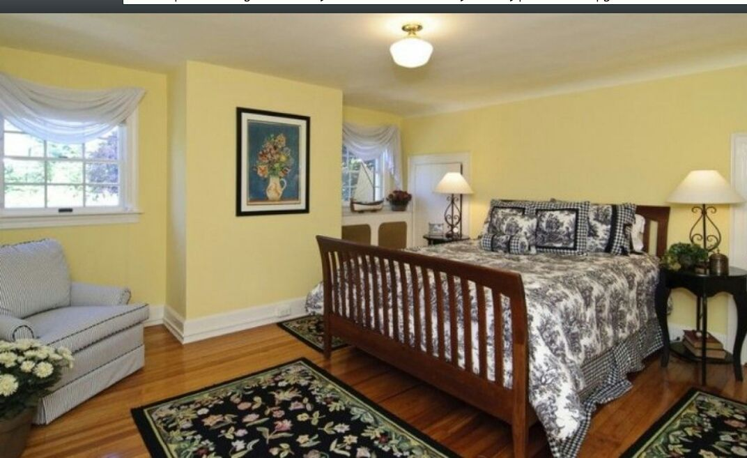 One Of The Bedrooms In The Amityville House Today Amityville