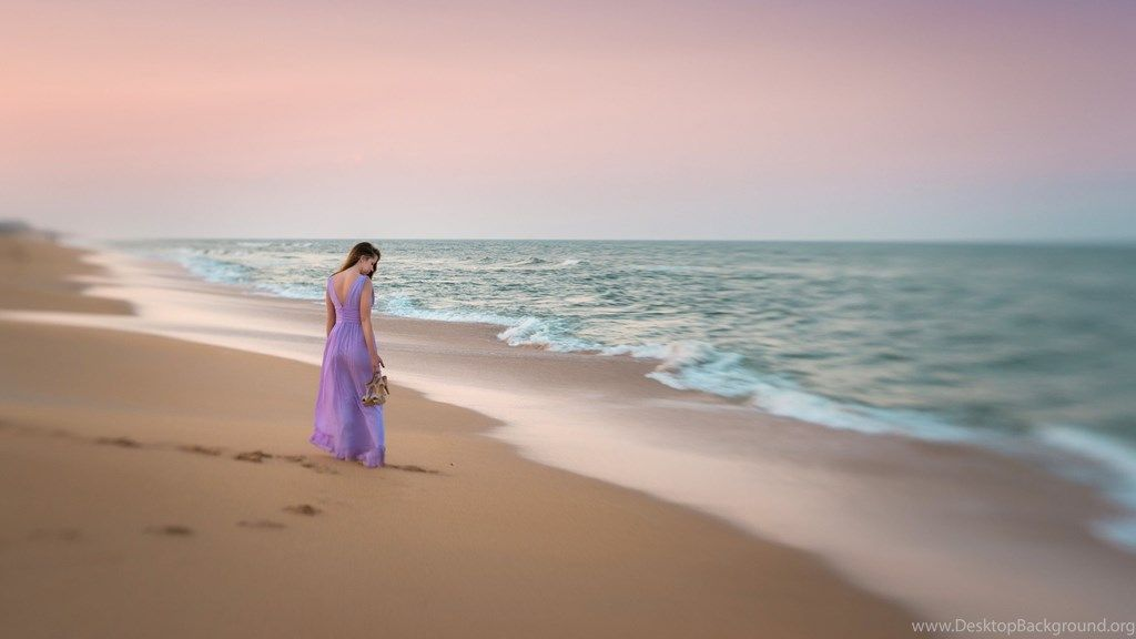 Girl On The Beach Ultra Hd Wallpapers Ultra Hd 4k Wallpapers