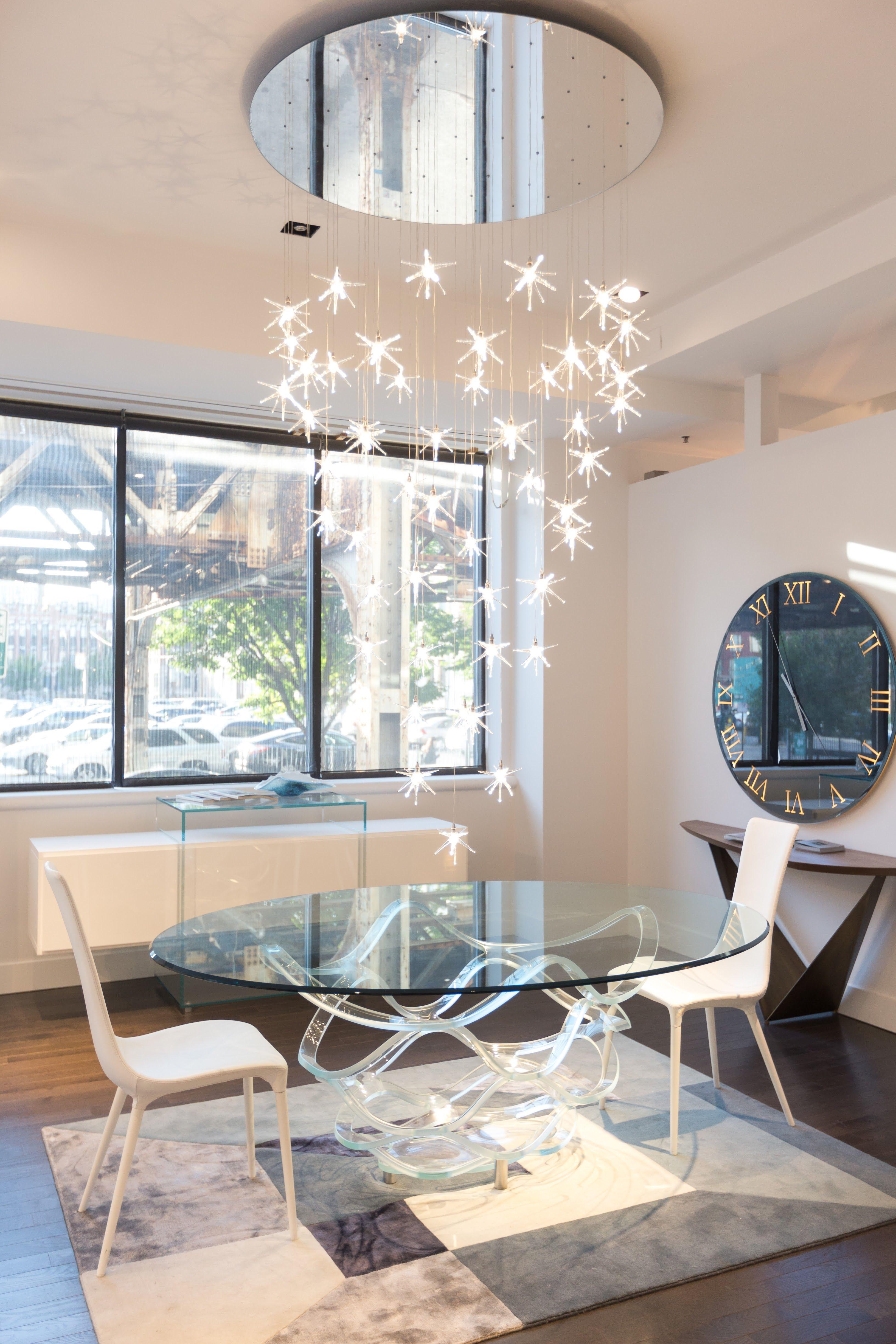 Reflex Kubo Sideboard, Neolitico Glass Dining Table U0026 Tango Dining Chairs