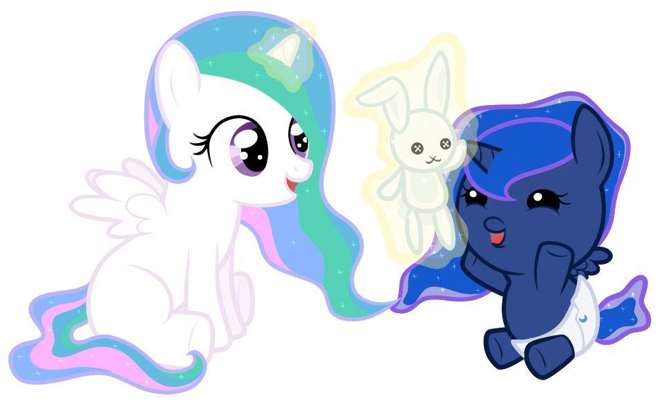 My Little Pony Baby Princess Celestia