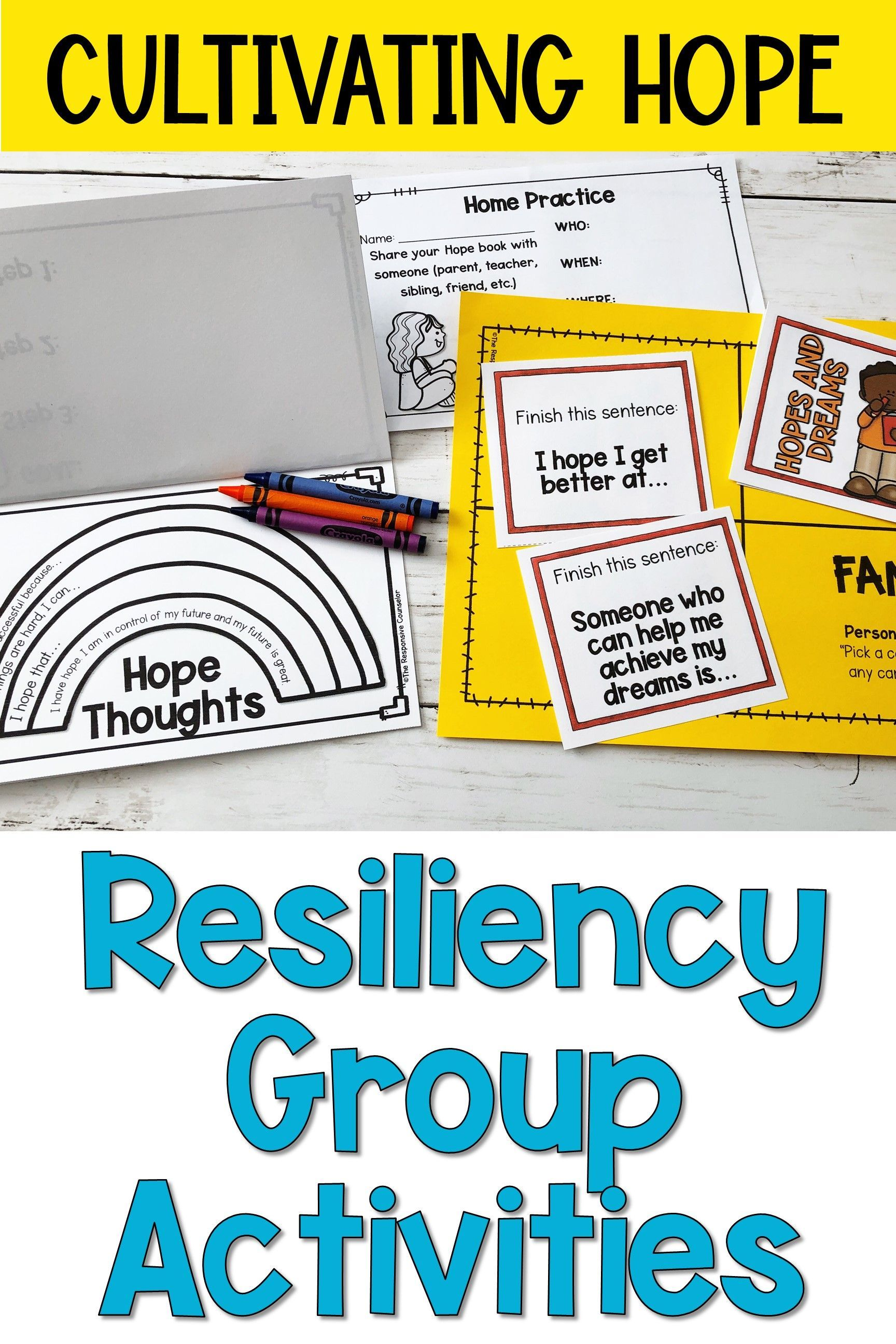 Resiliency Group Curriculum With Distance Learning