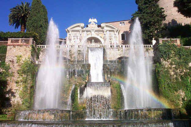 Villa de Este, Tívoli, Italia | Los 18 jardines más hermosos del mundo