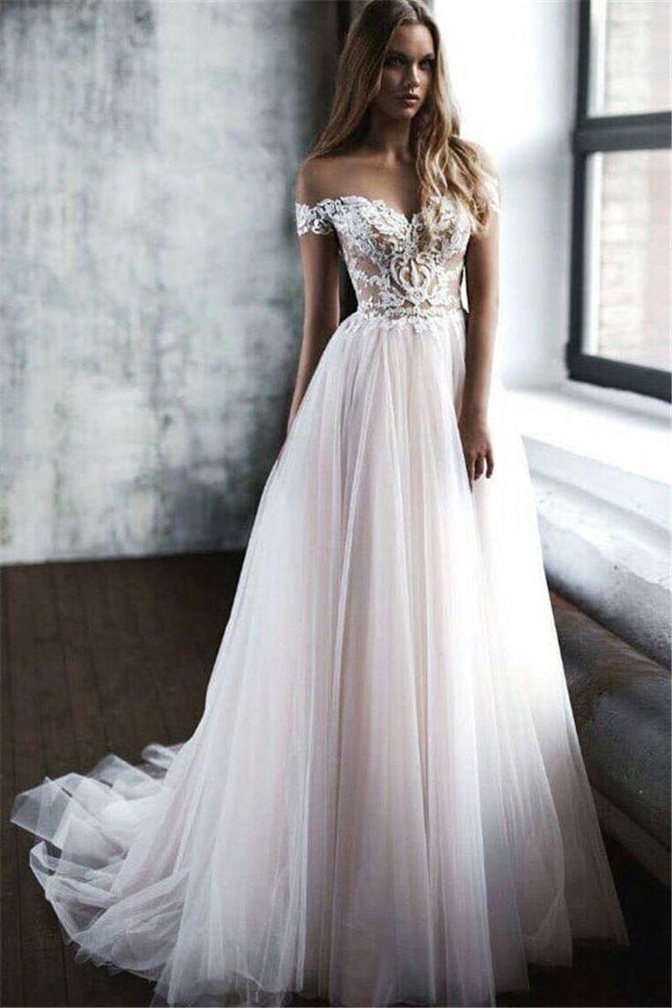50+ Most Gorgeous Wedding Dresses & Bridal Dresses Ideas 2019 – Wedding Time – #…