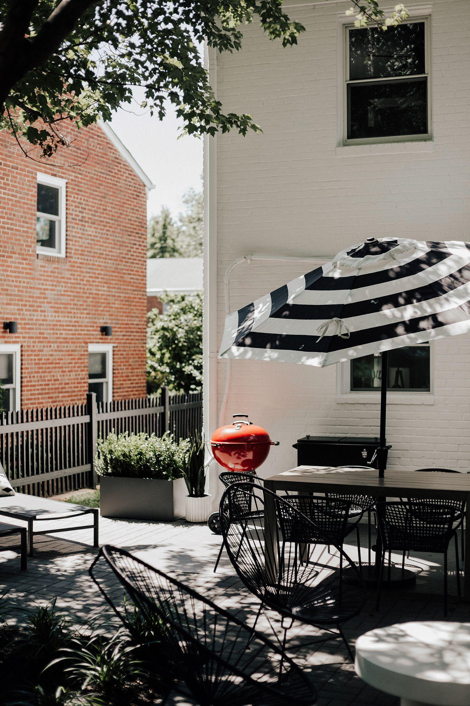 Outdoor Patio Reveal — Meg Biram Patio, Back patio, Outdoor