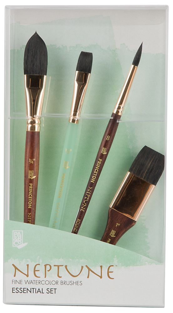 Princeton Neptune Fine Watercolor Brush Sets Jerrysartarama Com