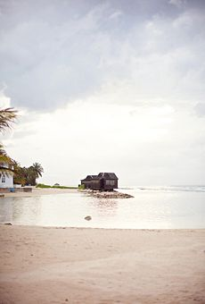 Brides: A Destination Beach Wedding in Montego Bay, Jamaica  Beach Weddings   Real Weddings   Brides.com