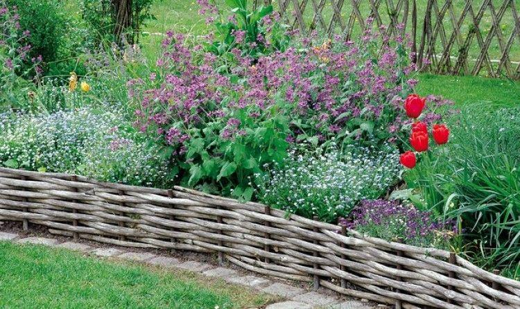 Allees Massifs Quelles Bordures Choisir Bordure Jardin Bois Bordure Bois Jardins Champetres
