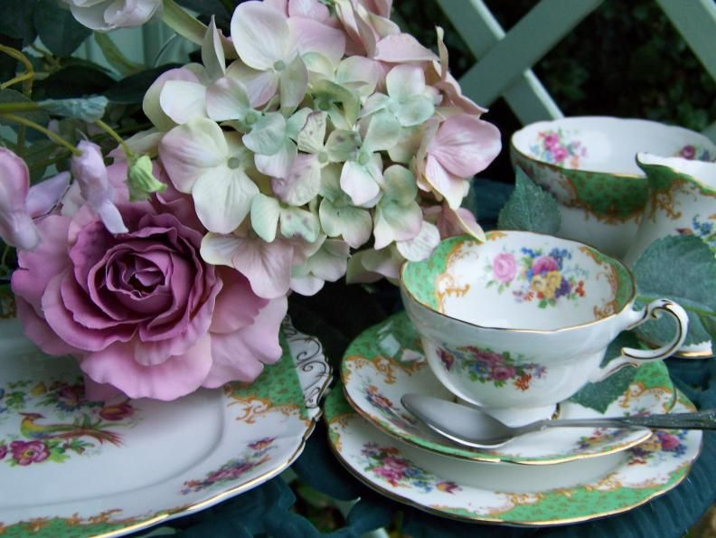 17 Best Images About Vintage Afternoon Tea Party Ideas On