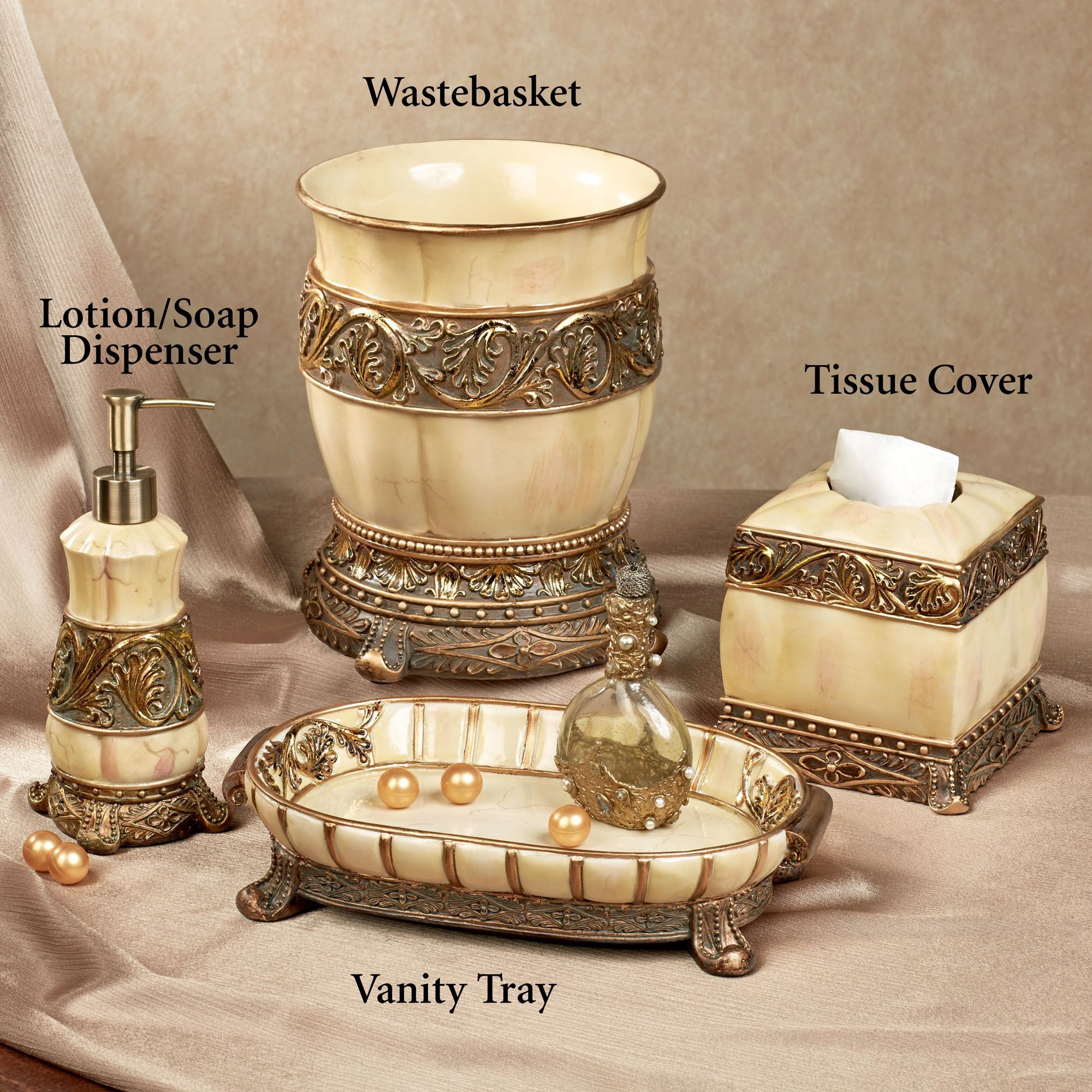 chalmette elegant bath accessories - Bathroom Accessories Elegant