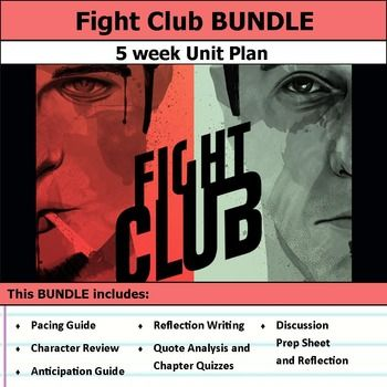 Fight Club Unit Reading Quizze Anticipation Guide Essay