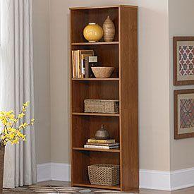 ameriwood bank alder 5 shelf bookcase at big lots - Big Lots Bookshelves