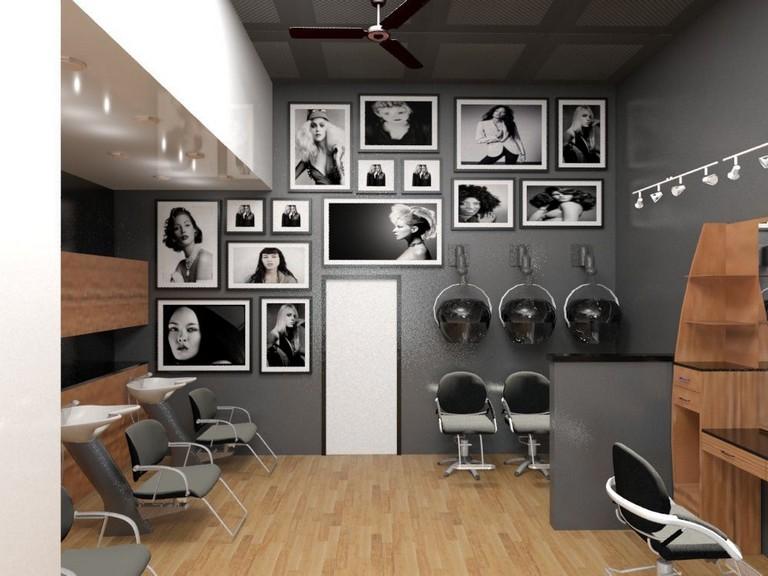 43 Awesome Small Beautiful Salon Room Design Ideas With Images Salon Interior Design Hair Salon Interior Salon Interior