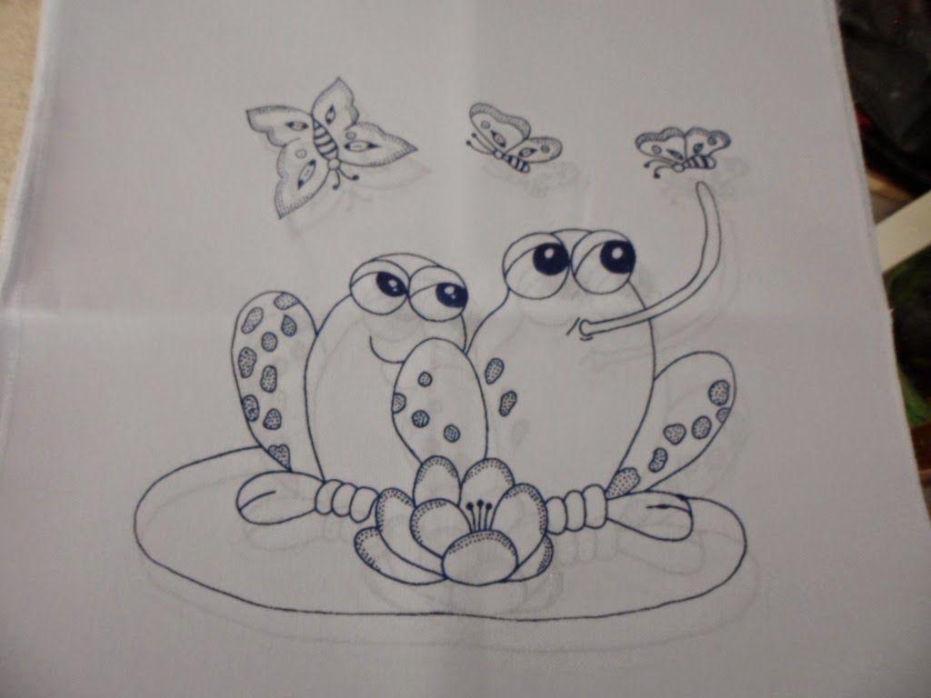 Servilleta Impresa Para Bordar O Pintar Mas De 150 Modelos A Escoger Imprimir Sobres Caricaturas De Animales Dibujos Para Bordar