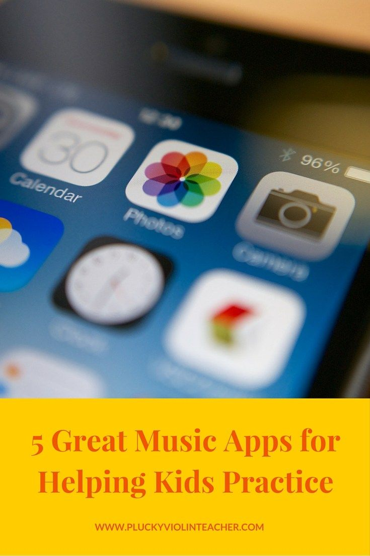 The best music apps for young musicians... Helping kids