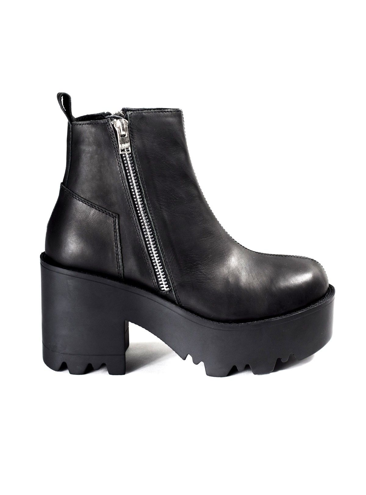 e45bd9ba8193 Unif Rival Leather Platform Boot. Find this Pin and more on shoes ...