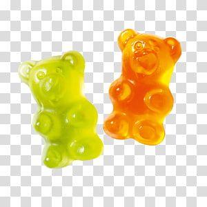 Two Green And Yellow Gummy Bears Illustration Gummy Bear Gummi Candy Jelly Babies Gelatin Dessert Bears Transparen Bear Illustration Jelly Babies Sticker Art