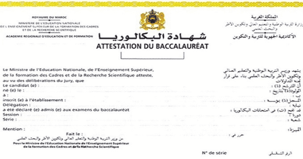 Bac Men Gov Ma Resultats Bac 2021 Au Maroc Dreamjob Ma Governor Bac Man Accounting