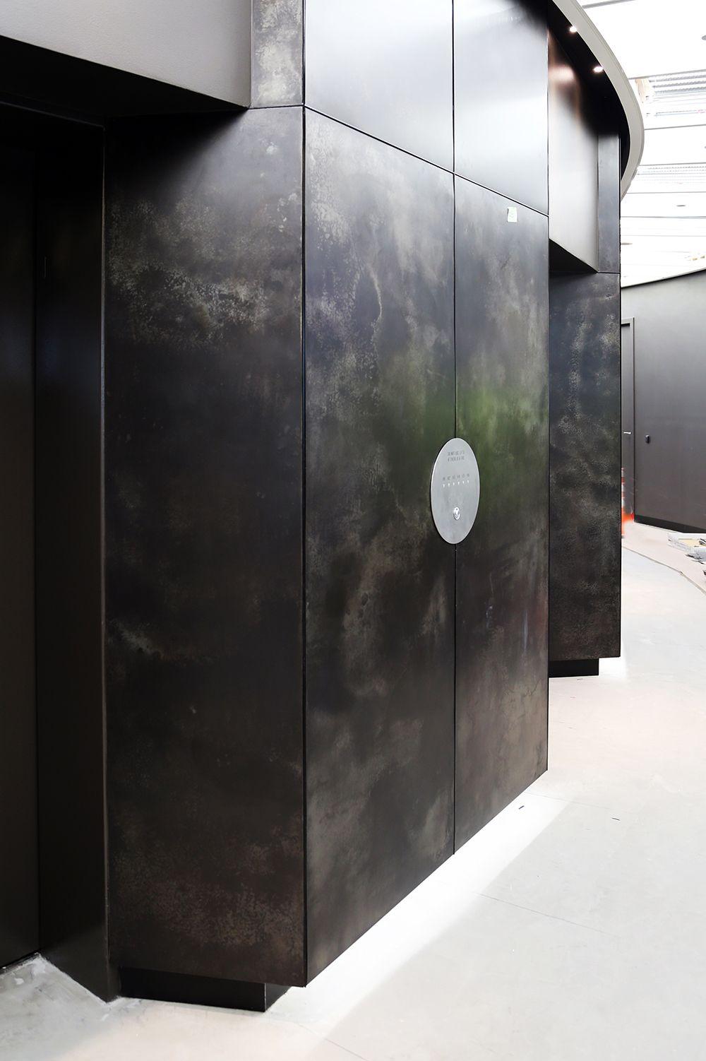 Feature Walls Axolotl Sheet Metal Wall Metal Wall Panel Feature Wall