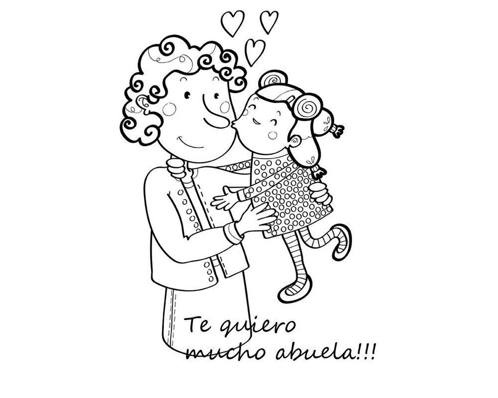 Imagen Para Colorear Para Mi Abuela El Dia De La Madre Dibujos Del Dia De Las Madres Dia De Las Madres Dia De La Mama
