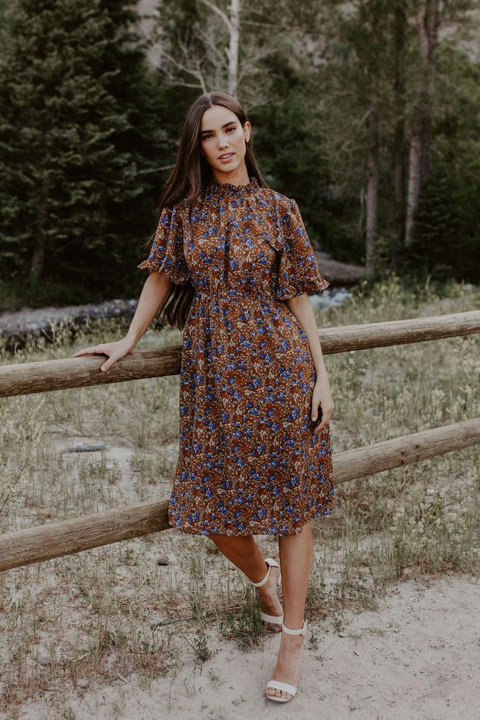 Midi Dresses in 2020 Modesty fashion, Modest outfits