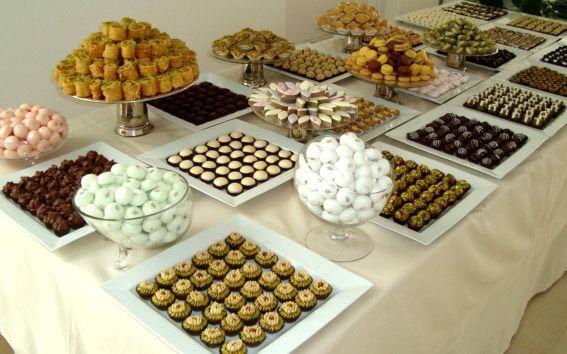 Variété de pâtisserie Masmoudi