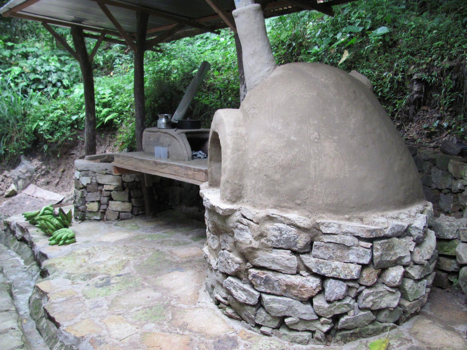 Rinc n con horno de barro aaaaa la cocina de mi casa y - Hornos de barro ...