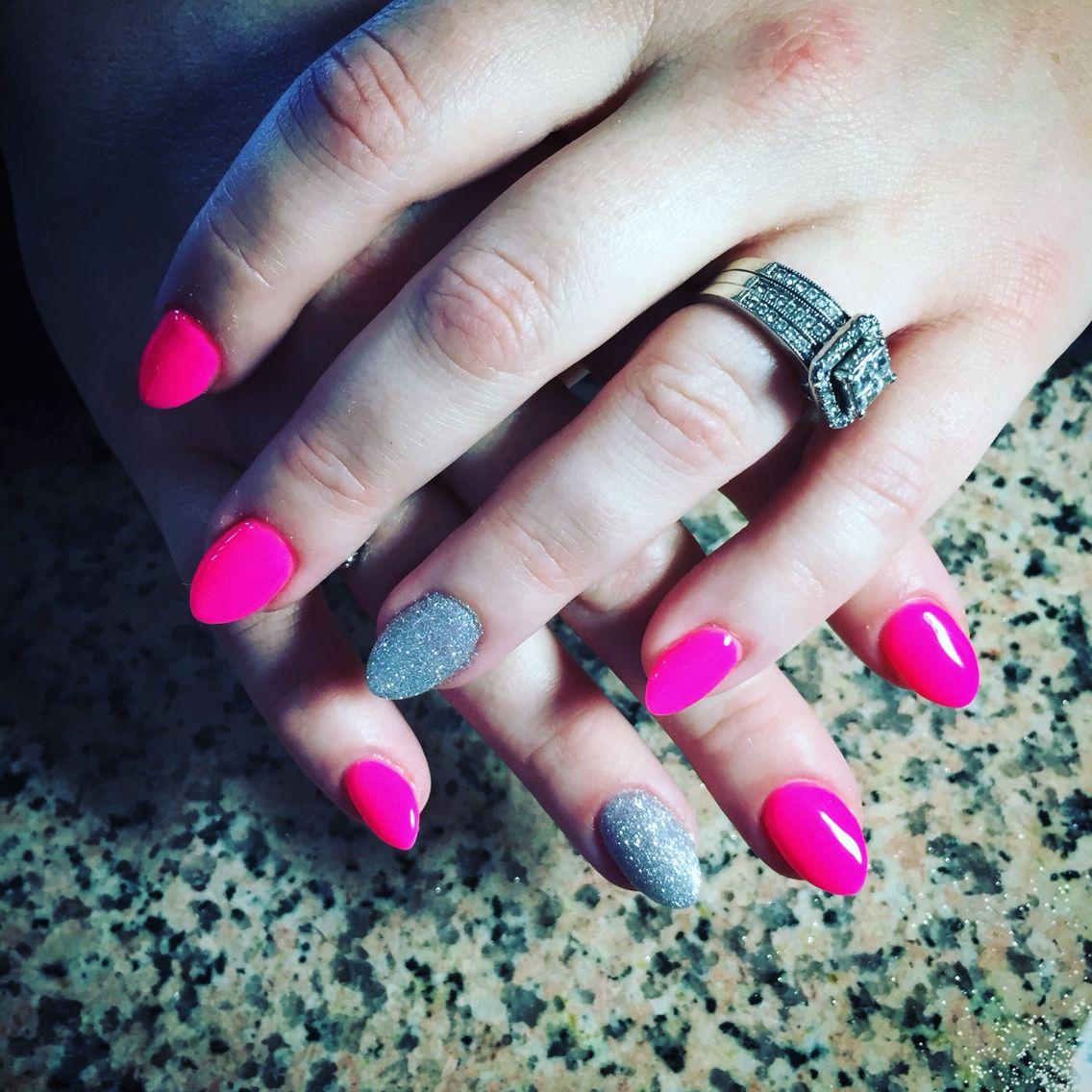 Holographic Gel Polish!   Acrylic nails, Gel polish, Nails