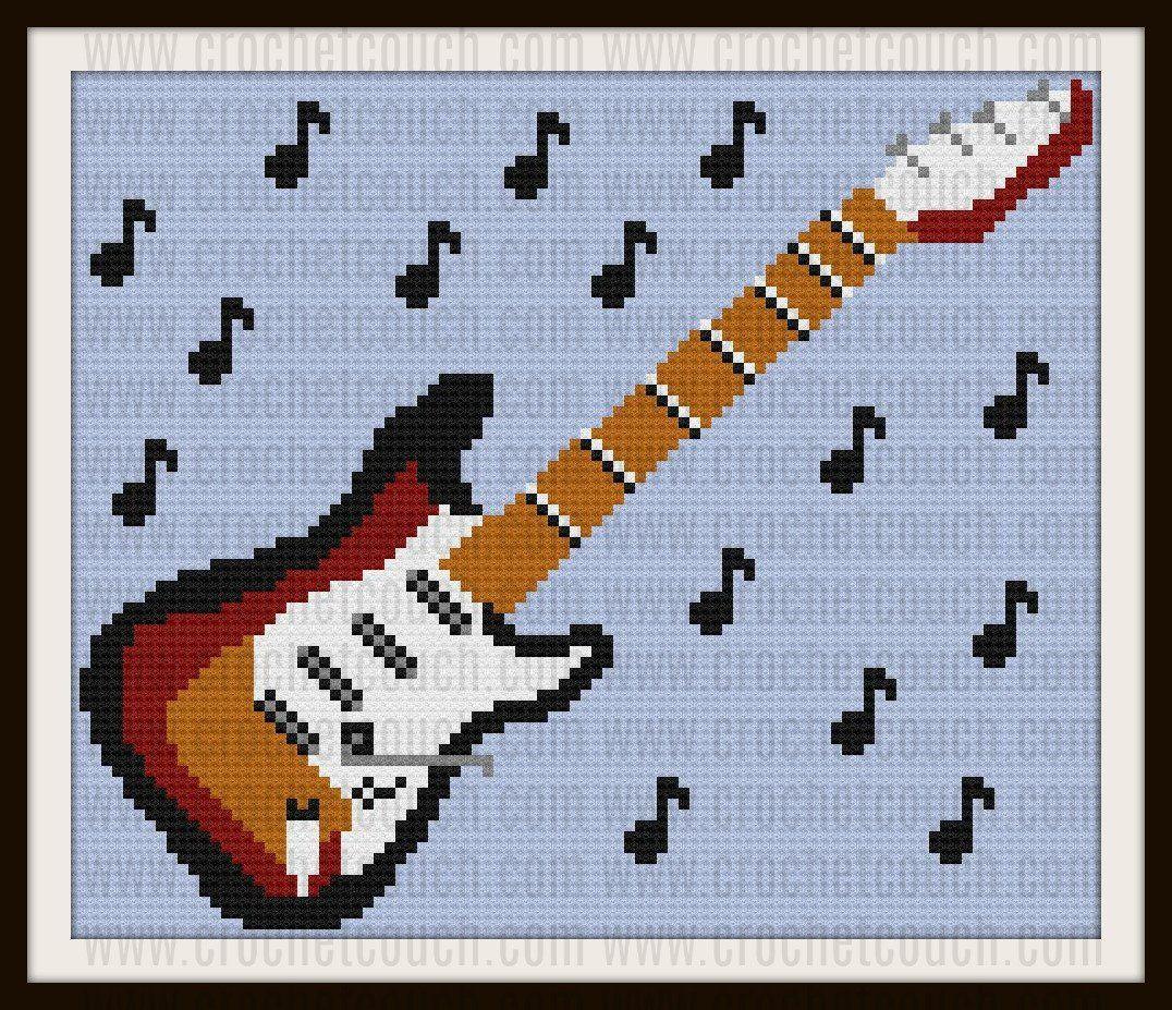 Flying V guitarra Kit Punto De Cruz