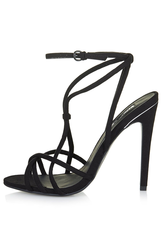 d7ca00ec6226 TopShop RACHEL Strappy High Sandals  75 size 9.5