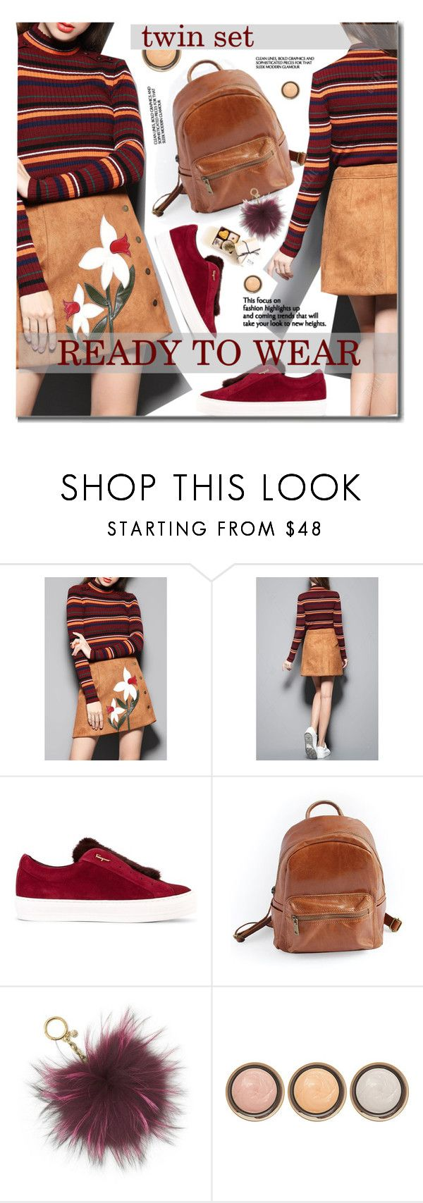 """Fall"" by beebeely-look ❤ liked on Polyvore featuring Salvatore Ferragamo, MICHAEL Michael Kors, By Terry, vintage, StreetStyle, streetwear, fallfashion, falltrend and dezzal"