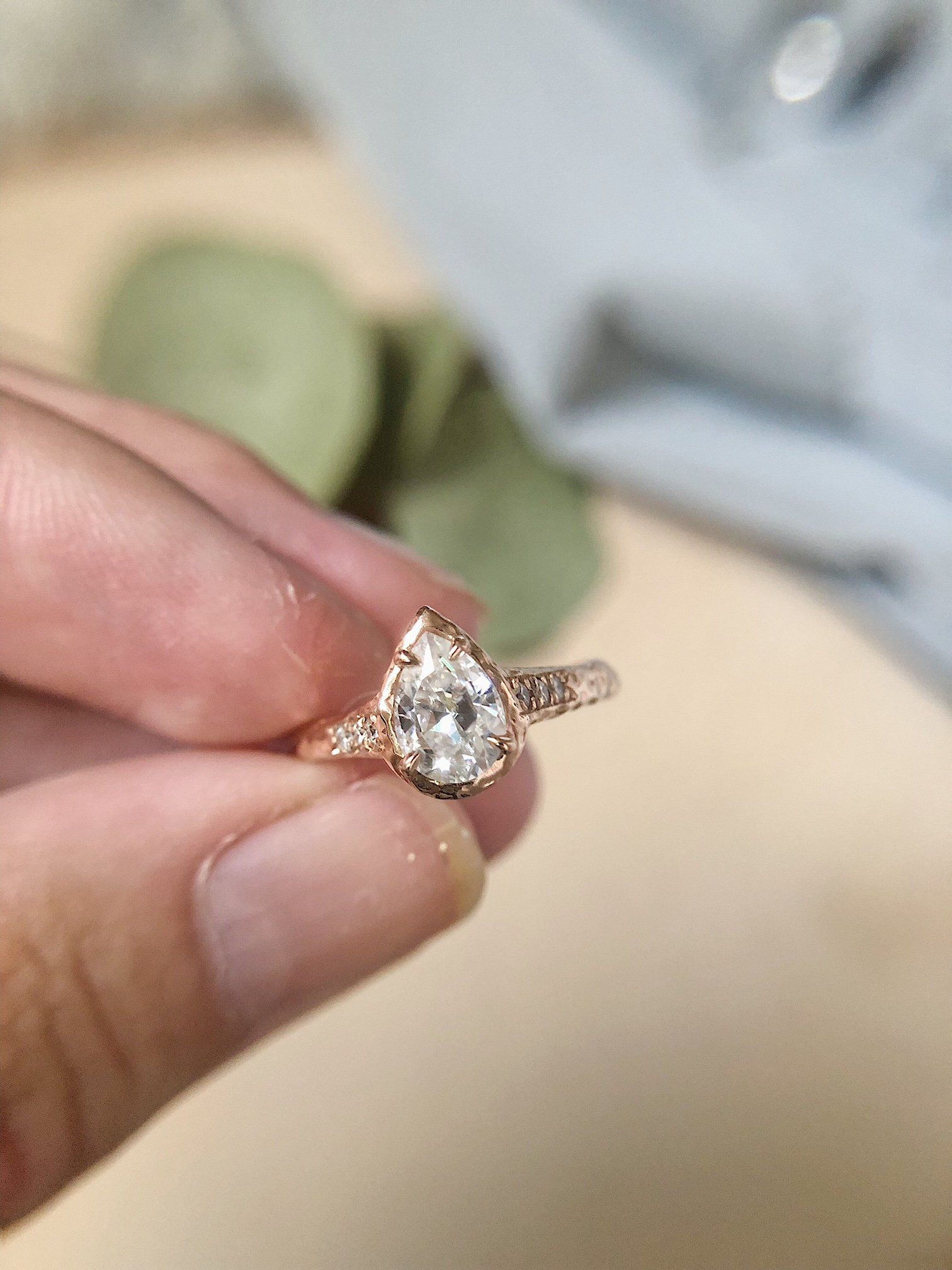 Which stone is best for an engagement ring fashion u style