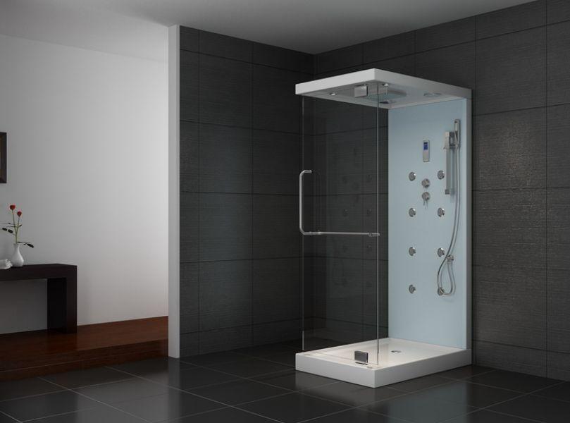 Duschtempel Duschkabine Dusche 120 x 80 x 222 cm