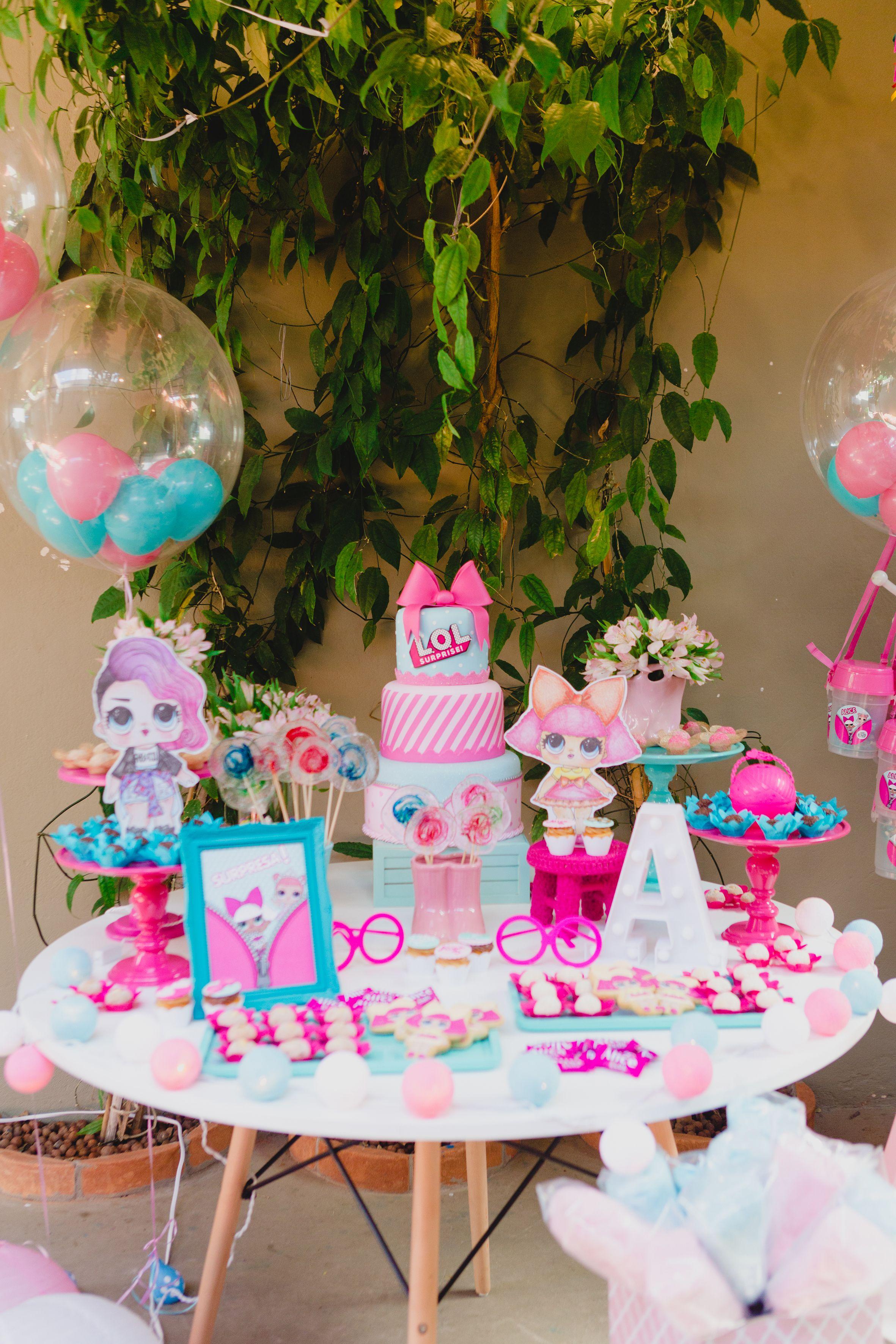 ec7a23680f Decoração festa infantil LOL Surprise por Festaria da Lu. Foto  Criativo  Infantil   Natan