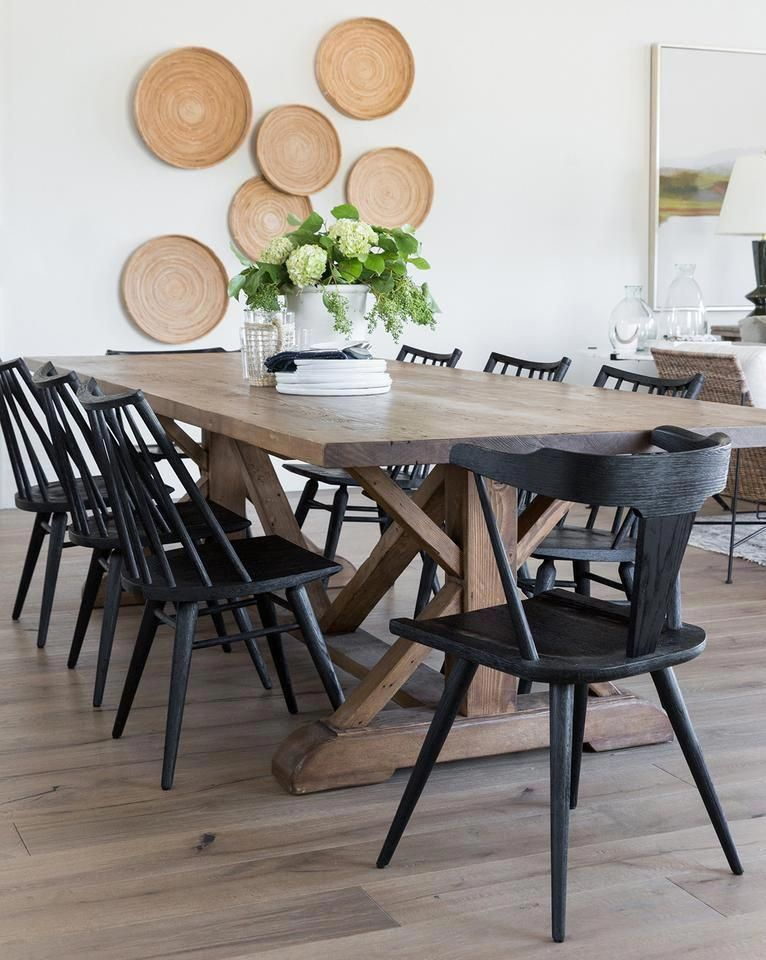 Ruthie Chair Black Oak In 2019 Woven Dining Chairs Dining