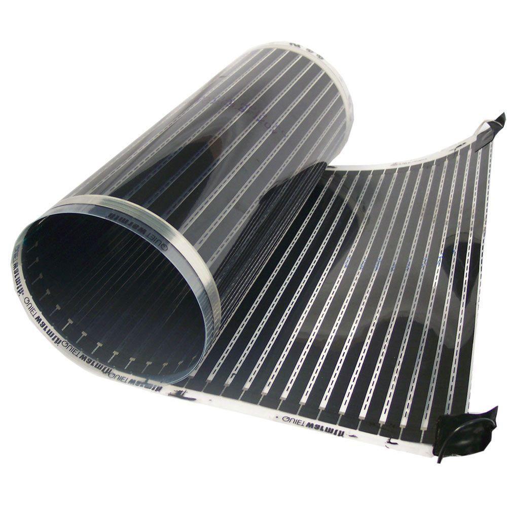 Quietwarmth 5 Ft X 36 In 240 Volt Radiant Floor Heating System For Laminate Vinyl And Floating Floors Covers 15 Sq Ft Qwarm3x5f240 Radiant Heat Radiant Floor Floating Floor