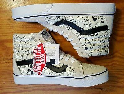 5e917ba30b649 VANS-Disney-101-Dalmatians-SK8-Hi-Slim-High-Top-Shoes-Womens-Size-9 ...