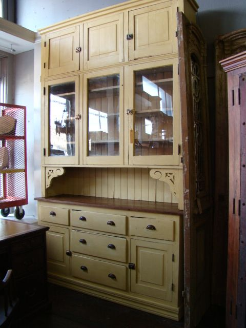 Best Free Standing Cupboard With Beadboard Bin Pulls And 400 x 300