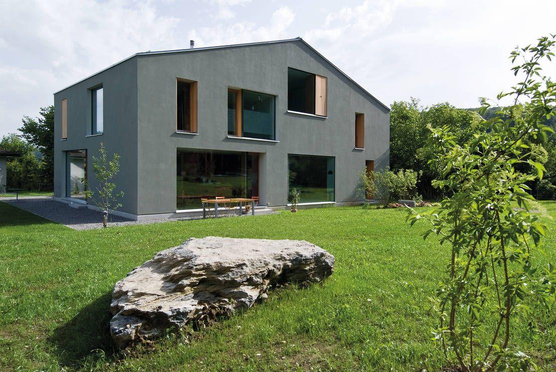 Edles wohn duo wohnkultur moderne h user und halle for Modern massiv bauen halle