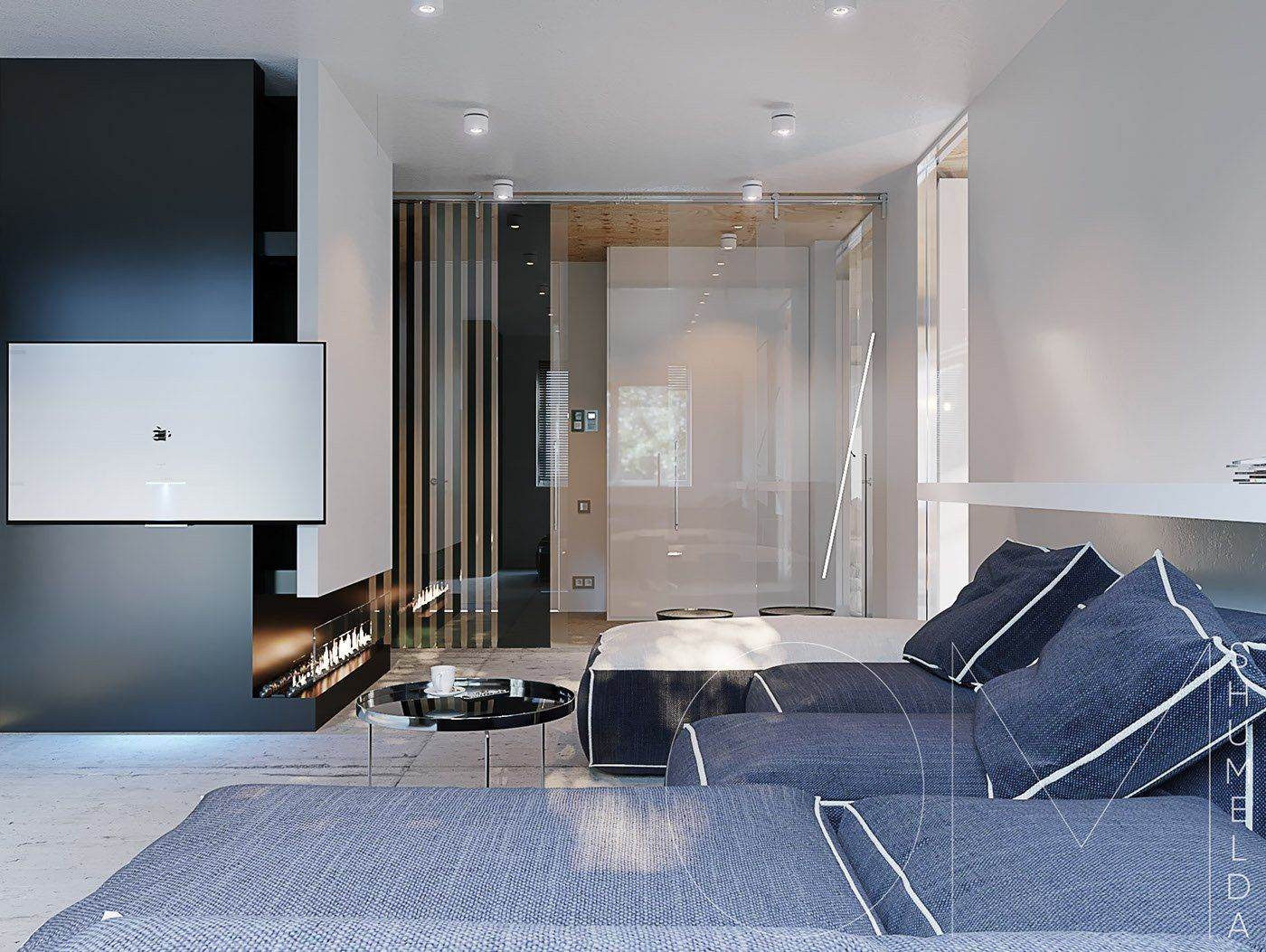 Small Space Luxury Three Modern Apartments Under 40
